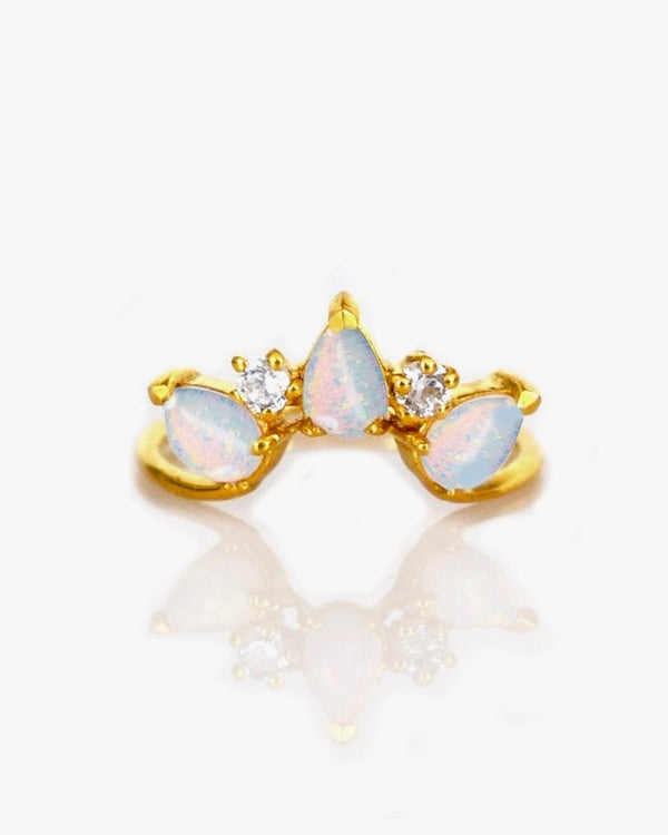 Opal Archer Ring