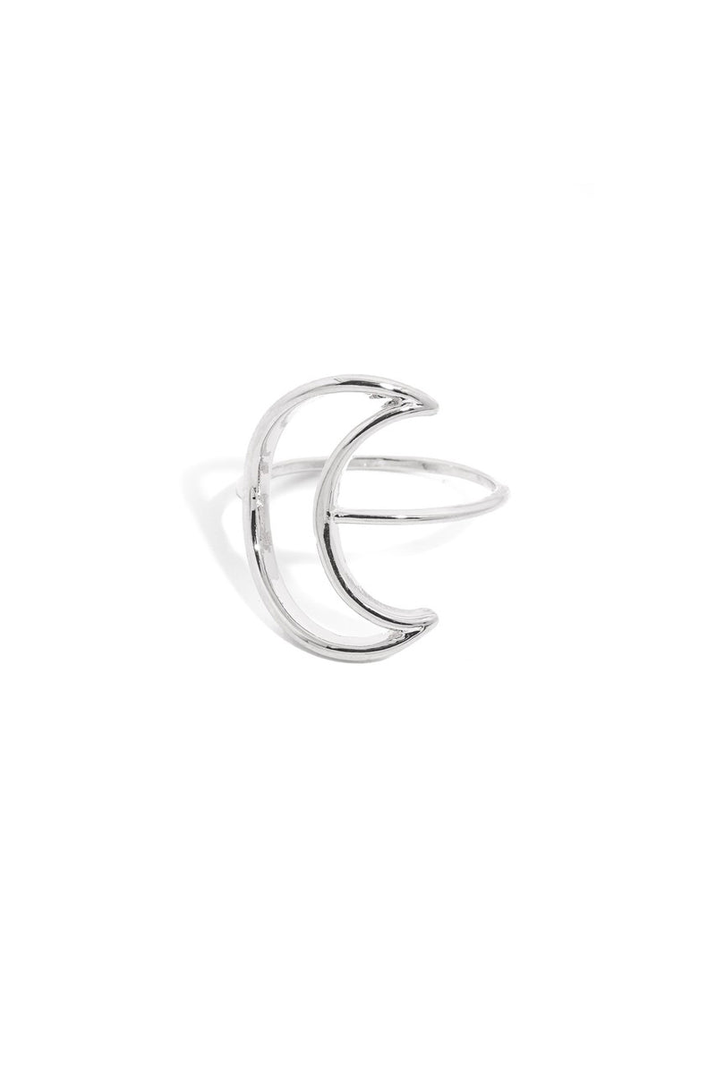 Classic Open Crescent Ring