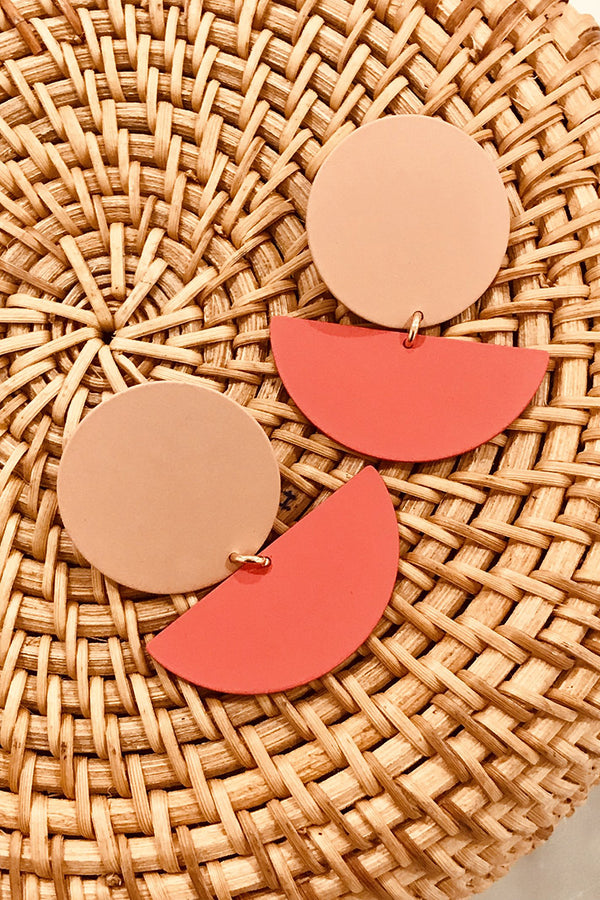 Peach Punch Earrings