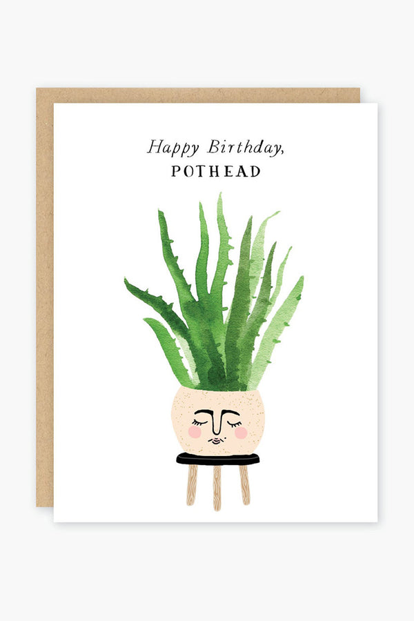Pothead Birthday Card