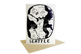 Seattle Map Card