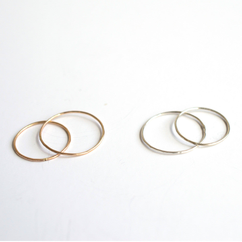 Classic Stacking Ring