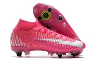 "Chuteira Nike Mercurial Superfly 7 Elite SG ""Pink Panther"""