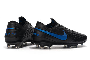 "Chuteira Nike Tiempo Legend 8 Elite FG ""New Lights"" Preto/Azul"