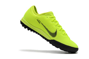 "Chuteira Nike Mercurial Vapor 12 Elite TF ""Always Forward"" Verde/Preto"