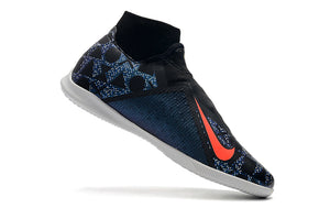 "Chuteira Nike Phantom Vision Elite Dynamic Fit IC ""EA SPORTS"" Roxo/Preto"