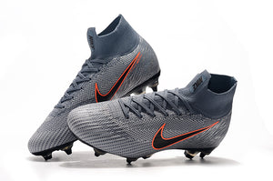 "Chuteira Mercurial Superfly 6 Elite SG ""Victory"" Cinza"
