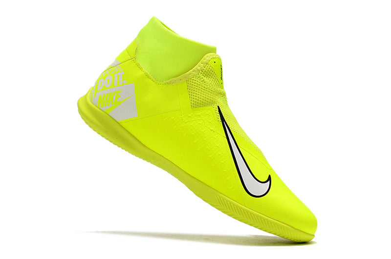 "Chuteira Nike Phantom Vision Elite Dynamic Fit IC ""New Lights"" Verde/Branco"