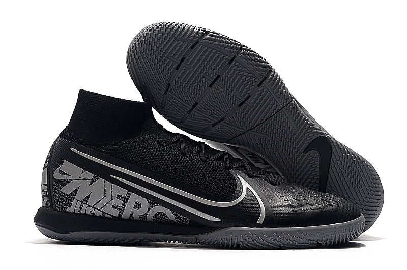 Chuteira Nike Mercurial Superfly 7 Elite IC Preto