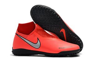 "Chuteira Nike Phantom Vision Elite Dynamic Fti TF ""Game Over"" Vermelho"