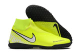 "Chuteira Nike Phantom Vision Elite Dynamic Fti TF ""New Lights"" Verde/Branco"