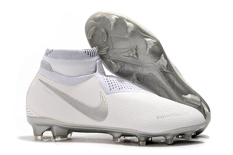 Chuteira Nike Phantom Vision Elite Dynamic Fit FG  All White