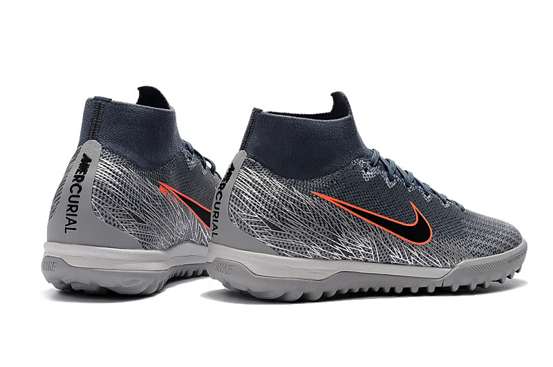 "Chuteira Nike Mercurial Superfly 6 Elite TF ""VictoryPack"" Cinza"