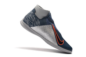 "Chuteira Nike Phantom Vision Elite Dynamic Fit IC ""Victory"" Cinza"