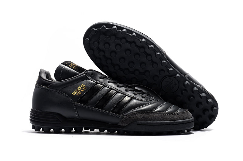 Chuteira Adidas Copa Mundial Team TF Black Gold