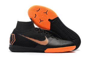 Chuteira Nike Mercurial Superfly 6 Elite IC Laranja/Preto