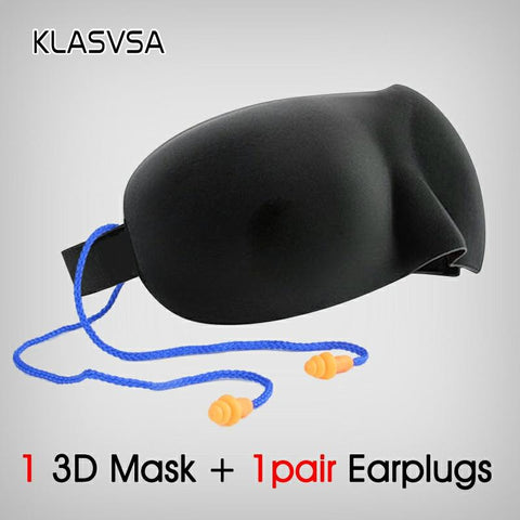 3D Sleeping Mask & Earplugs