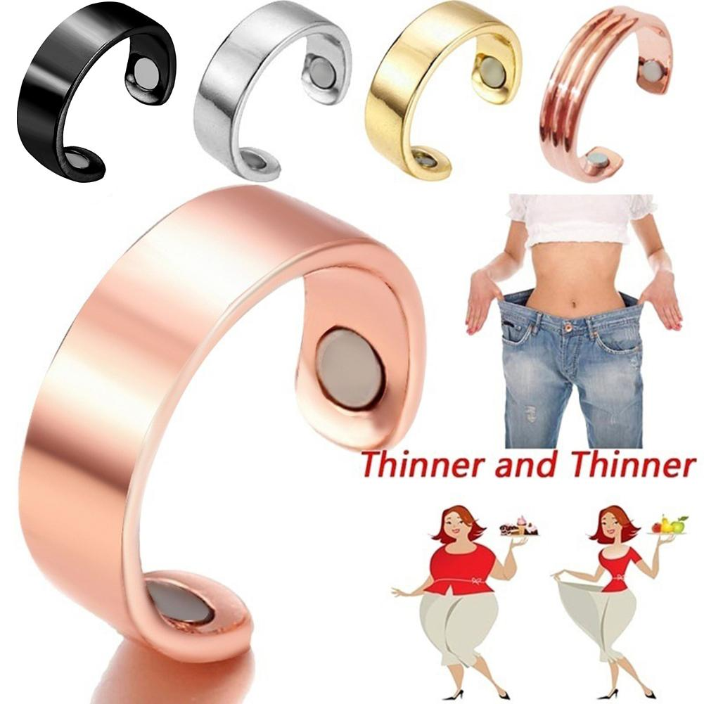 Natural Fat Burning Fashion Micro Magnetic Weight Loss Ring