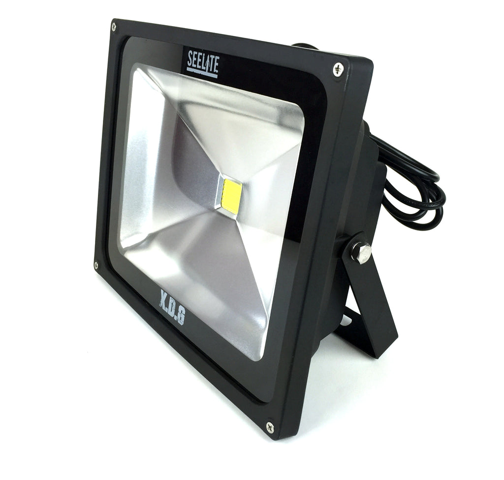 50 watt true warm led flood light w x d glass seelite. Black Bedroom Furniture Sets. Home Design Ideas