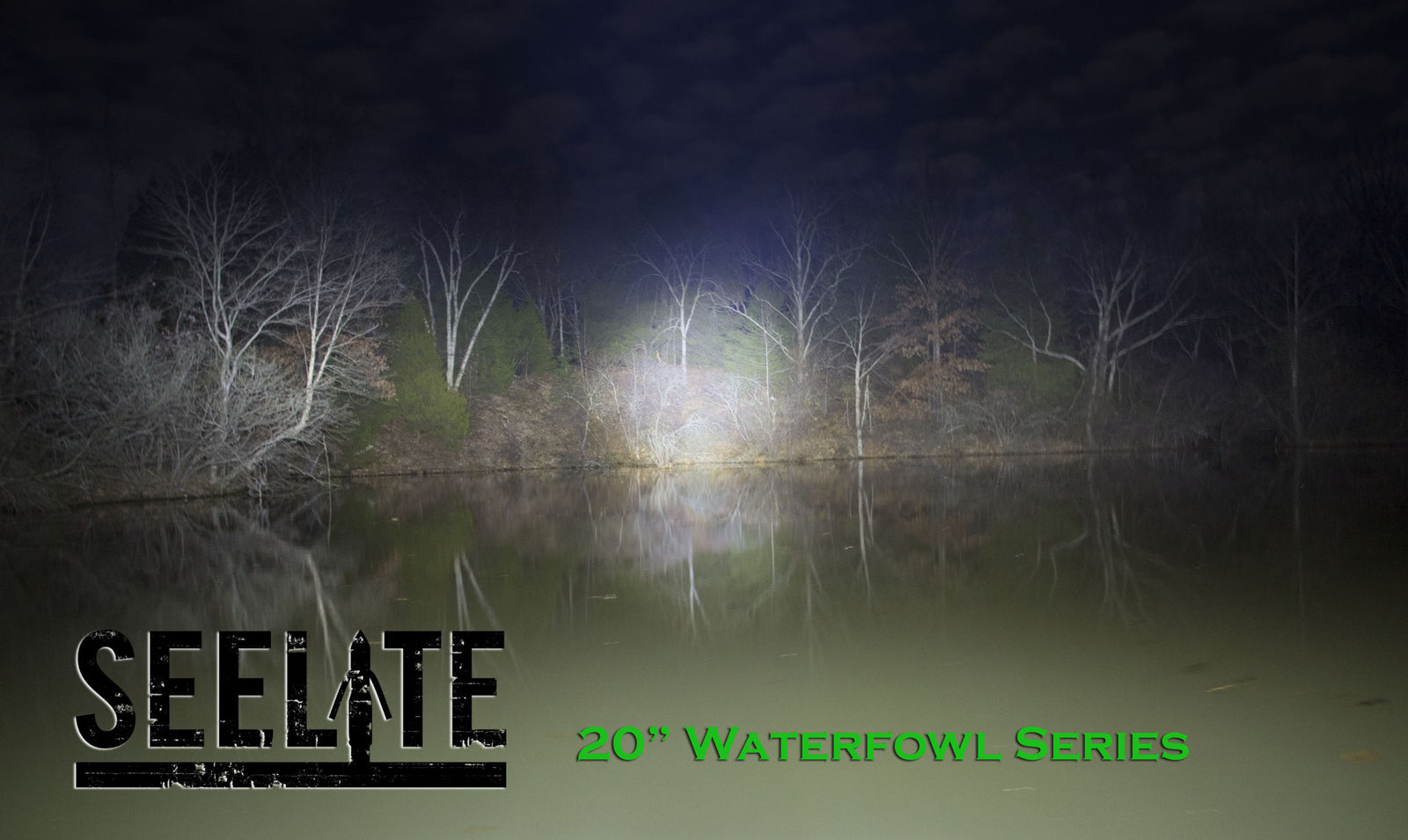 "20"" Waterfowl Series Double Row BlackOut"