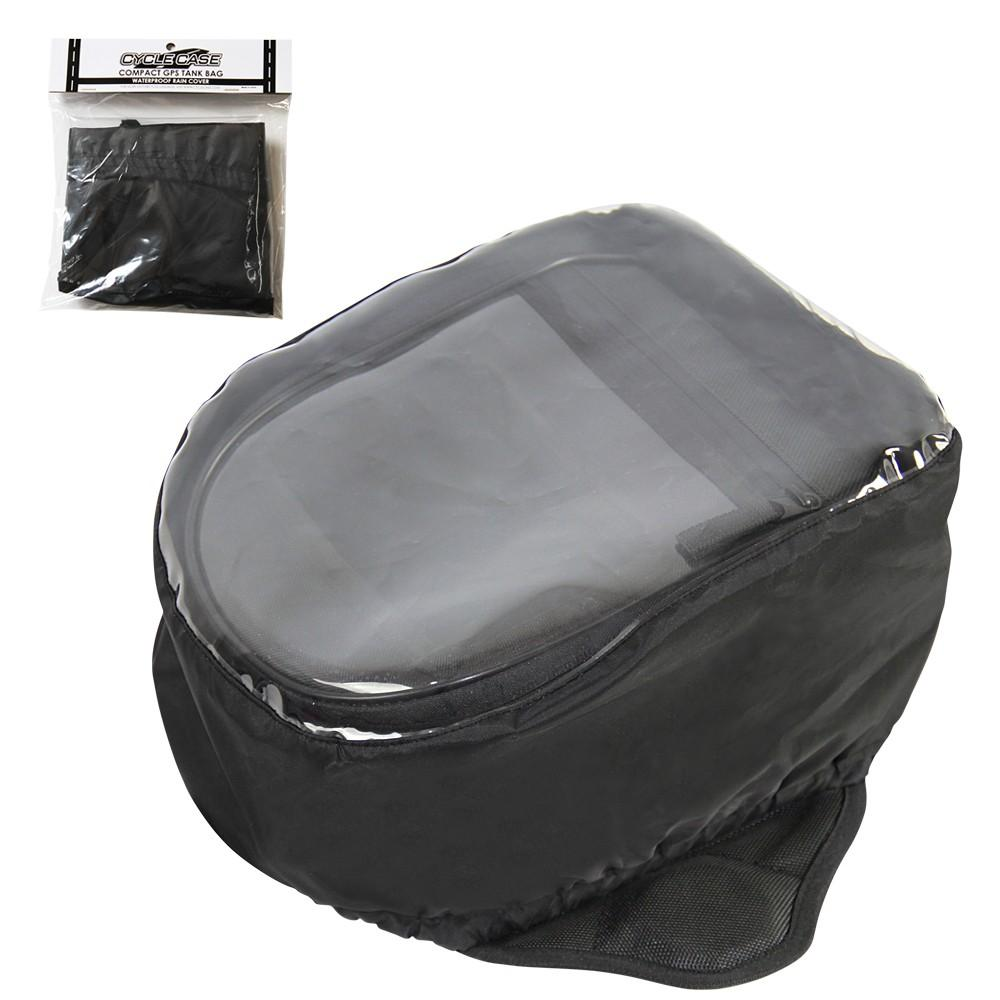 CYCLE CASE COMPACT GPS TANK BAG RAIN COVER