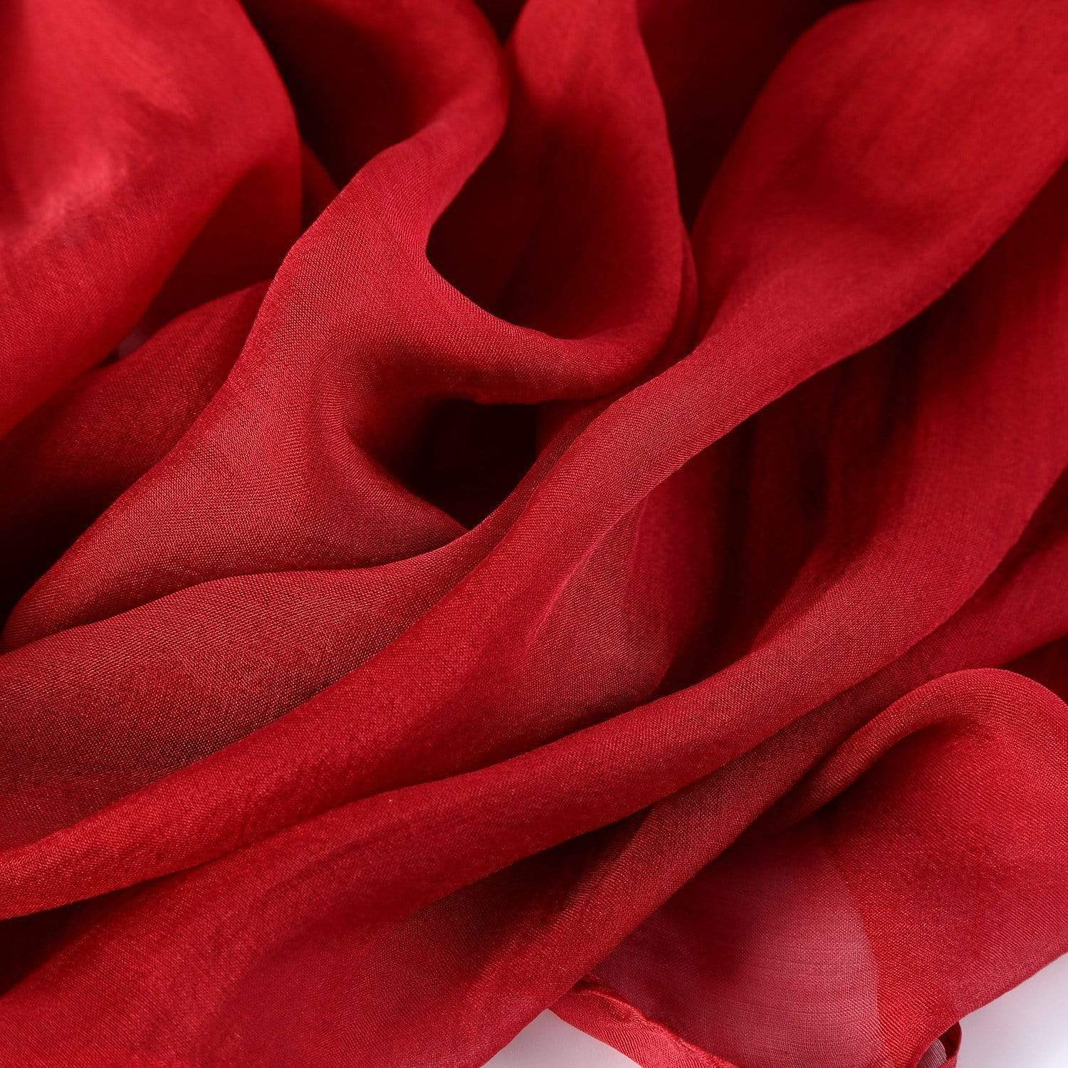 Style: SELINA Soft Silk Mousseline Scarf - Peony Rice