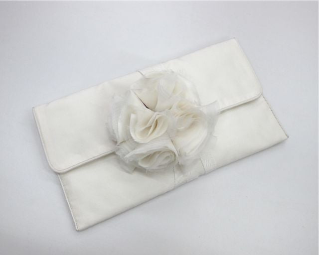 Style: SONYA Soft Silk Jewellery Clutch - Peony Rice