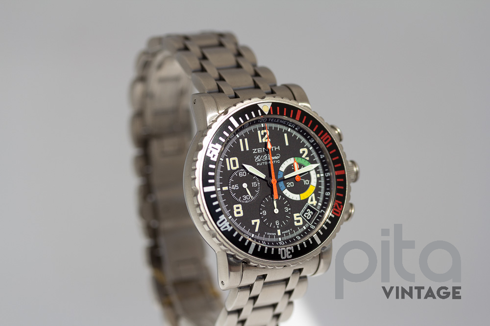 Zenith El Primero - Rainbow Flyback Automatic with Column Wheel