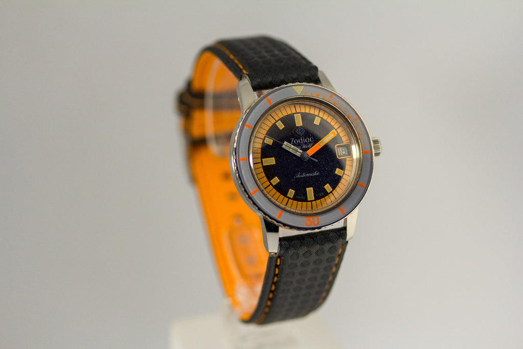 Zodiac Sea Wolf - Orange Exotic - 20ATM Automatic