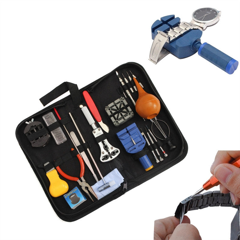 Tool Set for Watch Collectors - all you need to maintain and inspect your timepiece