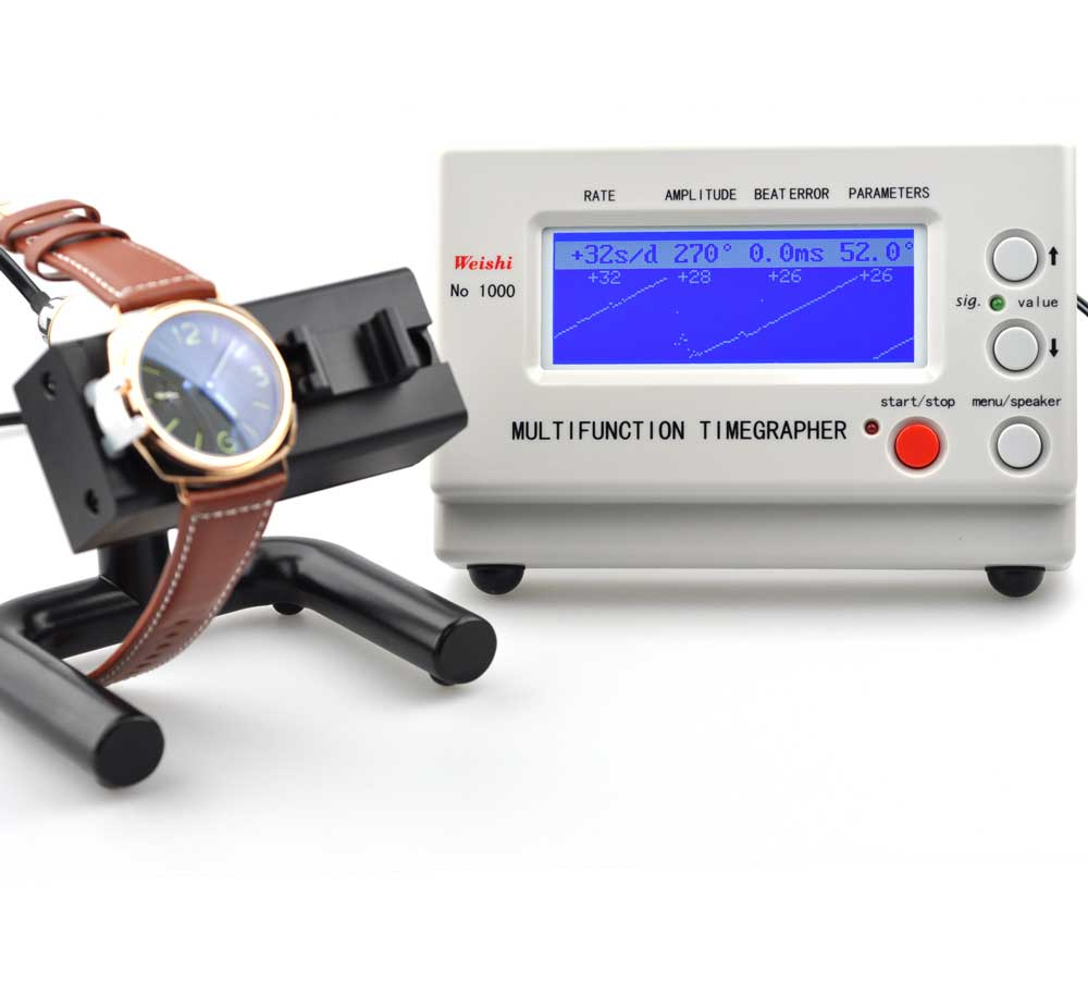 Timegrapher for Mechanical Watches - check the accuracy of your timepiece