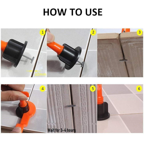 Best Domom Reusable Tile Leveling Lowes System for Home Depot