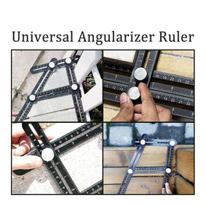 Amenitee Universal Angularizer Ruler - Easy Multi Angle Measuring Tool With Best Reviews