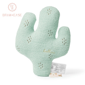 BrawEase Cactus Shaped Pillow Cushion