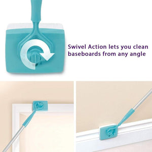 Baseboard Cleaning Mop With The Best Reviews/As Seen On TV Base Board Buddy Cleaner Tool
