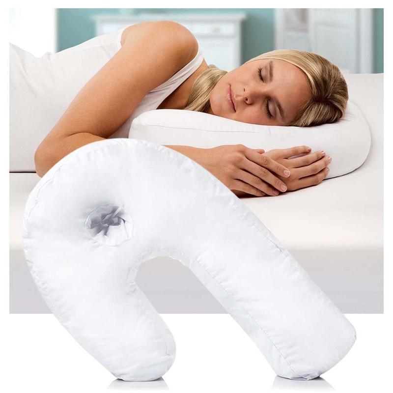 Best Remedy Easy Side Sleeper Pillow Case, With Ear Hole,Arm Hole, For Shoulder Pain, As Seen On TV