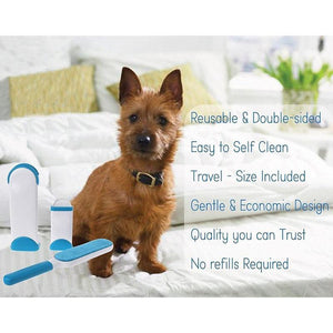 Best Rubber Fur And Lint Remover For Dog, Cat - As Seen On TV Pet Hair Remover Brush For Clothing Or Furniture