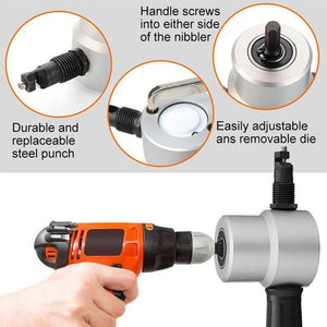 Double Head Sheet Nibbler Metal Cutter Drill Attachment With Best Review