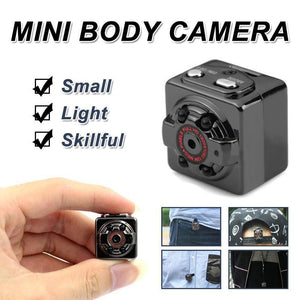 HD Mini Body Camera Tiny Personal Wearable Small Video Miniature 1080P Camera