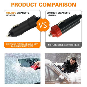 Hirundo Best Heated Snow Ice Miracle Car Window Scraper