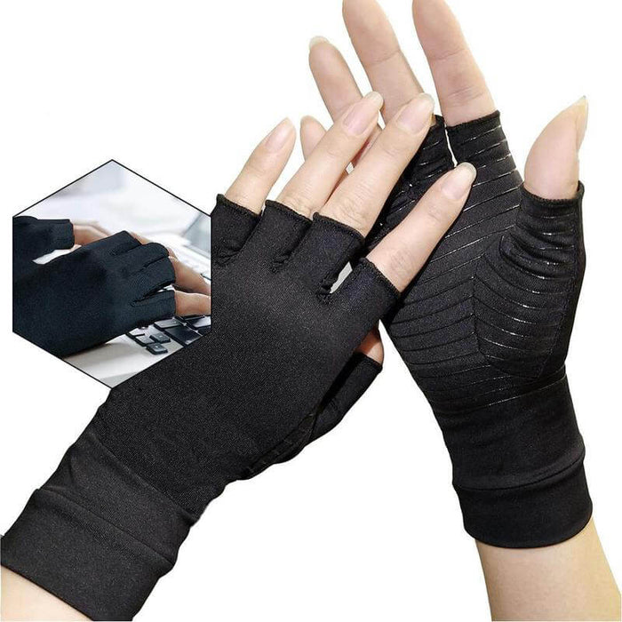 Hirundo Copper Arthritis Compression Gloves