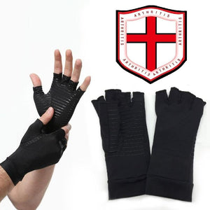 Hirundo Copper Hands Fit Arthritis Compression Gloves