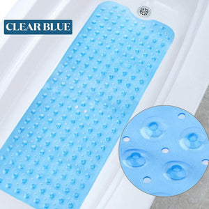 Large Extra Long Non Slip Rubber Bathroom Target Bath Mat for Tub and Shower