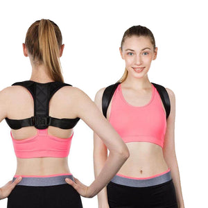 Magnetic Upper Back Brace - Best Posture Corrector Device Rounded Shoulders For Men and Women