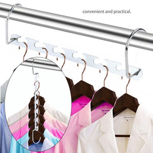 Metal Magic Hangers Closet Space Saving