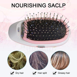 Portable Electric Ionic Breeze Styling HairBrush
