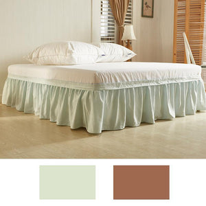 Wrap Around King & Queen Full Size Bed Skirt