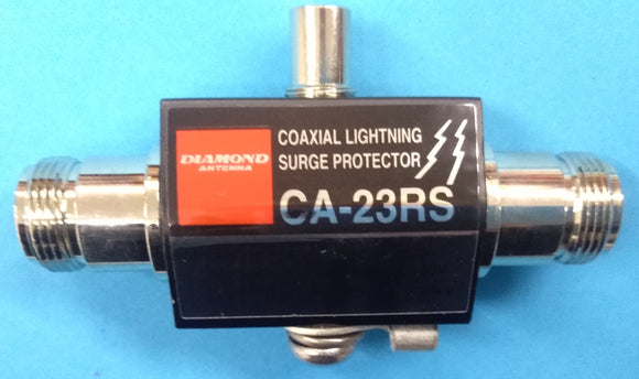 COAXIAL LIGHTNING PROTECTOR ON N CONNECTORS