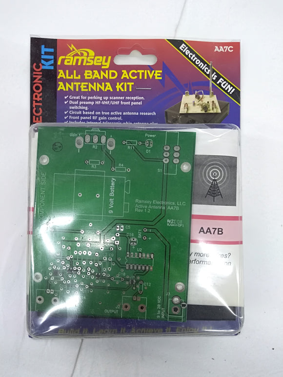All Band Active Antenna