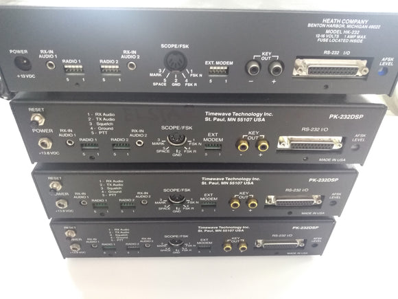 PK-232 PSK / DSP Packet Radio Modems